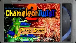 Chameleon Twist 2 :: Nintendo 64 Gameplay (real Hardware / Ultra Hdmi / 1080p)   Video Game B Roll