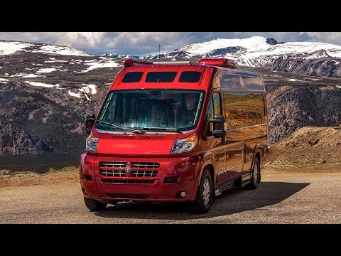Perfect Walk Through 2015 Roadtrek Zion RAM Promaster RV Conversion Camper Van | FunnyDog.TV