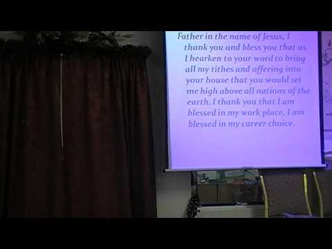 Sunday, February 2nd, 2014 - Pastor Ebere Ogba Trotman - Giving part 3