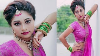 Very Easy Engagement Makeup tutorial # Affordable Engagement makeup #engagement makeup
