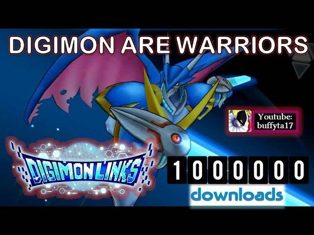 Digimon Links - Celebración 1 millón de descargas