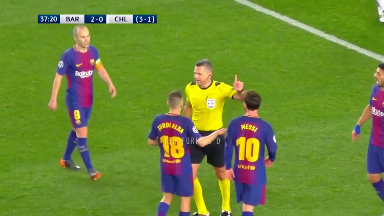 Download FC Barcelona vs Chelsea 3 0 All Goals and EXT Highlights w  English Commentary UCL 2017 18 HD 720p