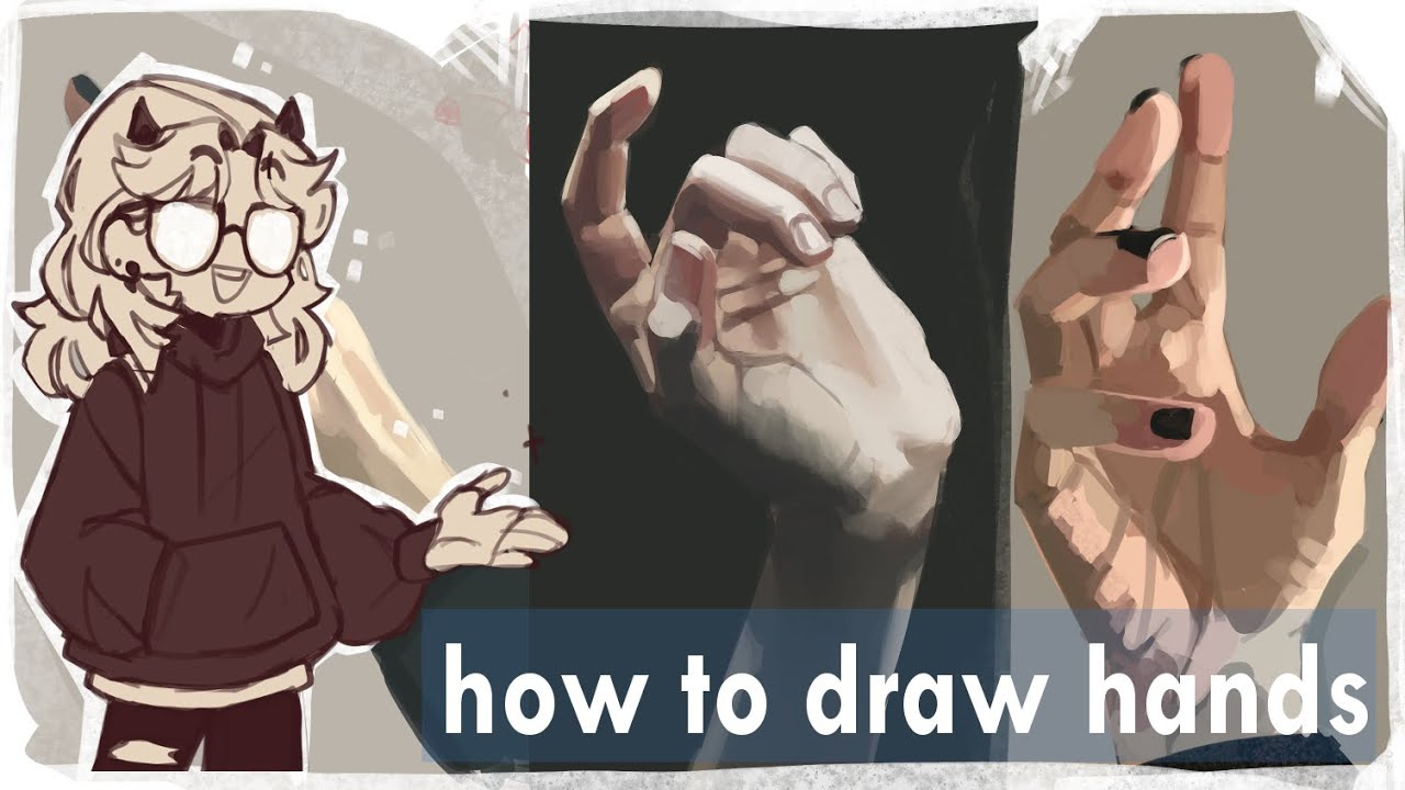 How to draw hands// tips and tricks