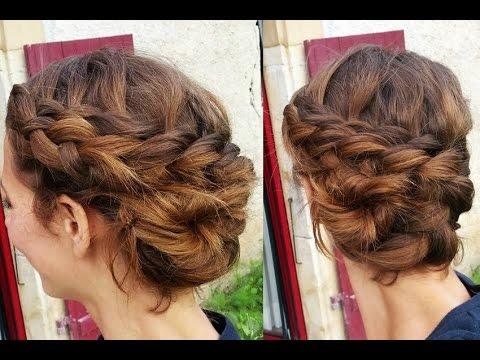Tuto Coiffure Le Chignon Tresse Coquillage Shell Braid Youtube