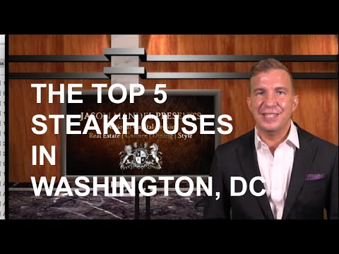 The Top 5 Steakhouses in Washington, DC