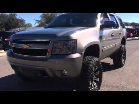 2012 chevy tahoe lifted suv for sale in pensacola youtube. Black Bedroom Furniture Sets. Home Design Ideas