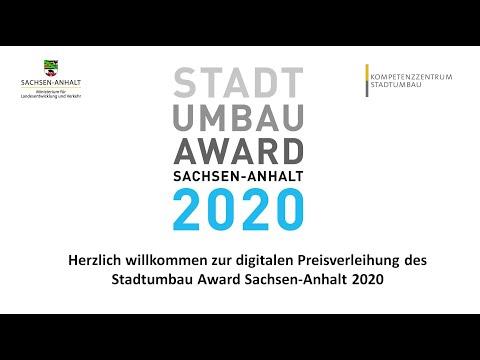 Preisverleihung Stadtumbau Award