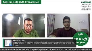 Capstone IBA MBA Preparation