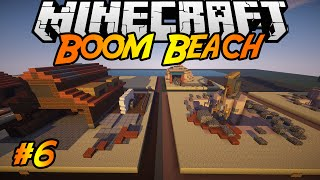Boom Beach in Minecraft | Making of #6 | Sawmill, Sculptor, Quarry, Radar, Iron Mine
