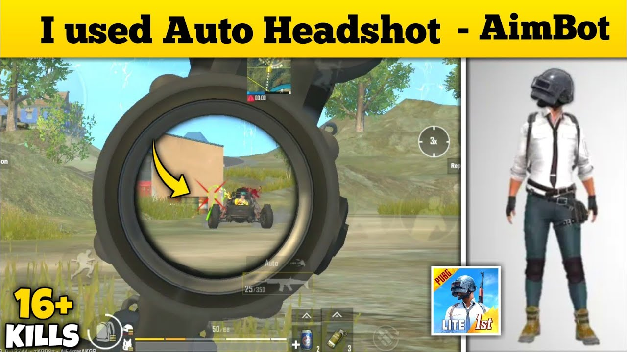Best way to aim on head in Pubg mobile lite | Gameplay By - INTENSE GAMING
