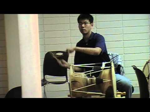 """Oops! Jeffrey's during his Korean drum rehearsal """"..."""