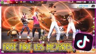 FREE FIRE LOS MEJORES TIK TOK 😜 - Mejores Momentos Epicos y Divertidos en Free Fire