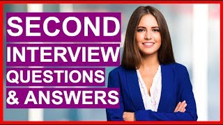 Download lagu SECOND INTERVIEW Questions And Answers! (How To Pass A 2nd Interview!)