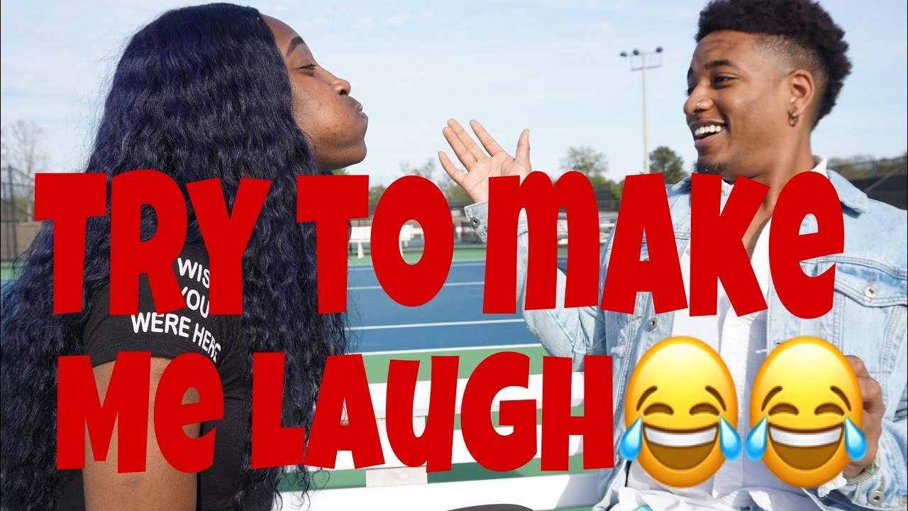 TRY TO MAKE ME LAUGH CHALLENGE WITH JONTAVIAN!!!