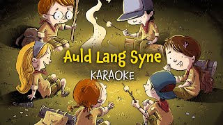 Auld Lang Syne (instrumental - lyrics video for karaoke)