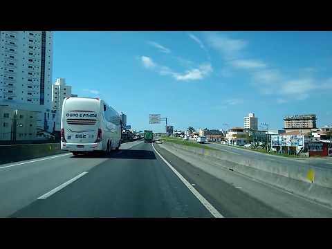 Itapema SC pela Br 101 até Porto Belo SC