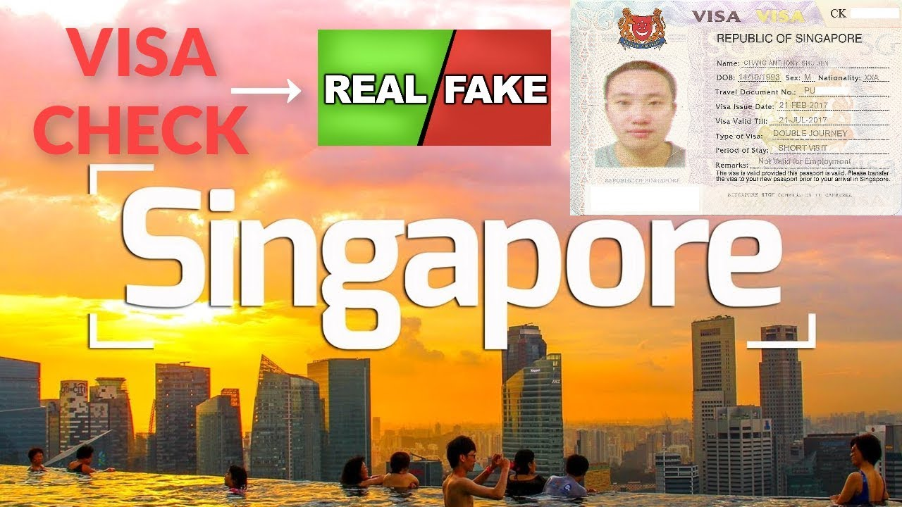 SINGAPORE E VISA CHECK WITHIN 2 MINTS