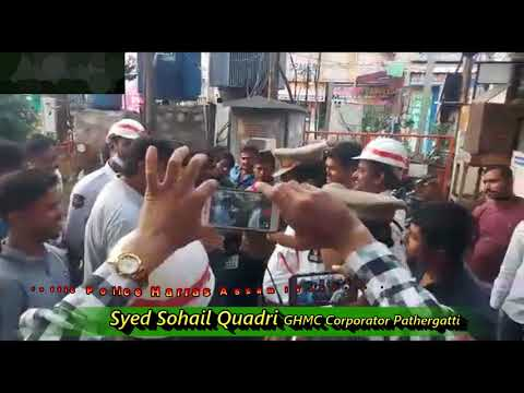 Traffic Police Harass Poor Daily wage earners from Assam near Charminar