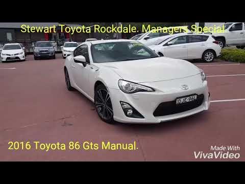 2016 Toyota 86 Gts Manual.