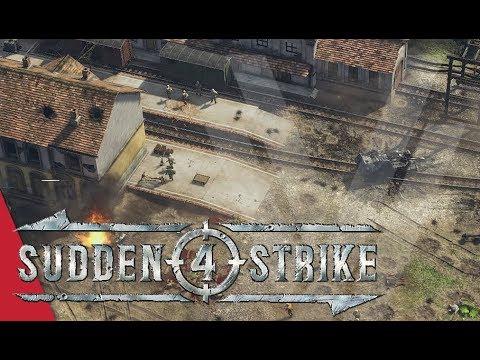 Mission 5: Fourth Battle of Kharkov! Sudden Strike 4 Gameplay (Soviet Campaign)