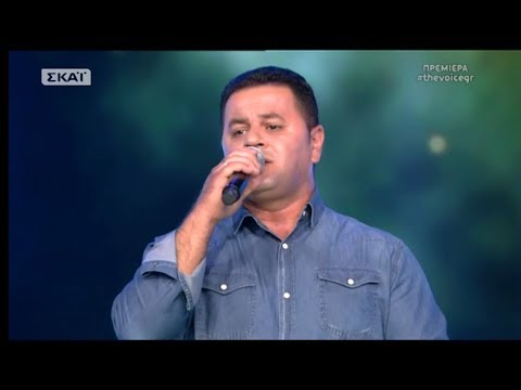 The Voice of Greece 4 - Blind Audition - TAMALLY MAAK - Samir Al-Belati