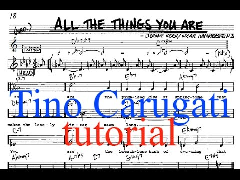 Lezione di Piano n.105: 'All the things you are', tutorial
