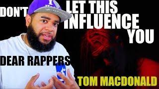 "{{ REACTION }} Tom MacDonald - ""Dear Rappers"" I Got Personal Again"