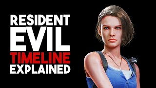 The Complete Resident Evil Timeline Explained