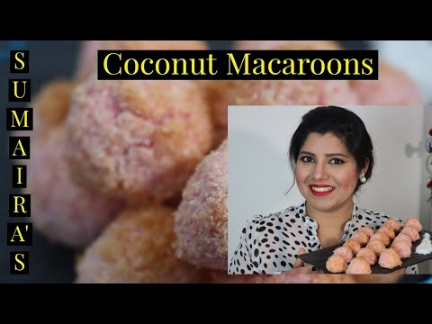 homemade-coconut-macaroons-|-very-easy-recipe-4-ingredients-only-|-bakery-style-|-sumaira-bolder