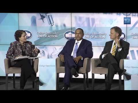 College Opportunity Day of Action: Morning Session with Pres. Freeman Hrabowski