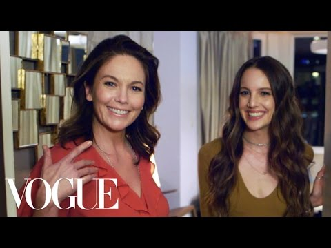 What's In Your Bag with Diane Lane  Vogue