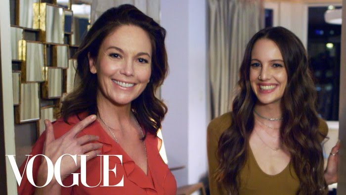 Whats In Your Bag With Diane Lane Vogue Youtube