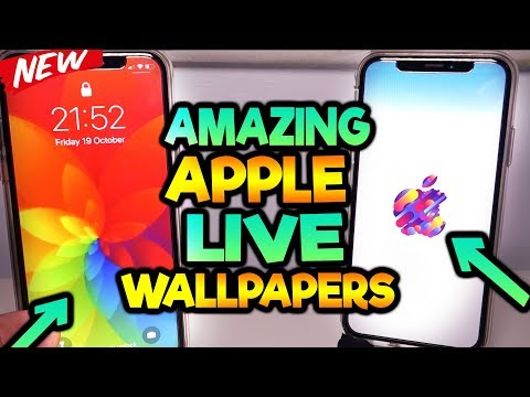 *MUST HAVE* NEW Apple Live Wallpapers