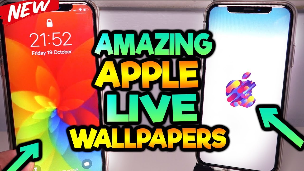 *MUST HAVE* NEW Apple Live Wallpapers - YouTube