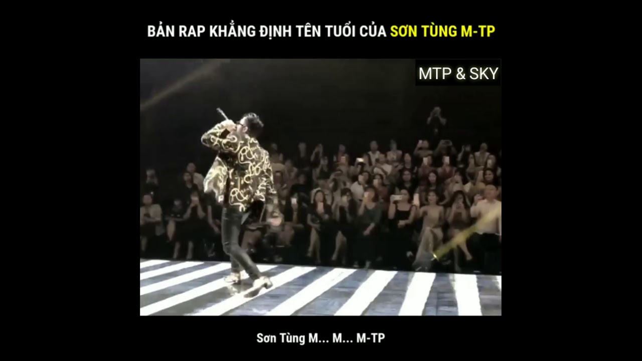 Bản rap khẳng định tên tuổi của Sơn Tùng M-TP !!!