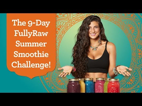 9-Day FullyRaw Smoothie & Weight-Loss Challenge! Join Now!