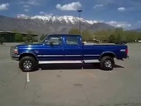 1997 ford f350 xlt 7 3l turbodiesel powerstroke manual 4x4 for sale crewcab youtube. Black Bedroom Furniture Sets. Home Design Ideas