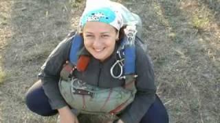 видео Приключение на выходные - прыжки с парашютом в Пущино (Московская обл.)