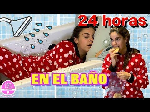 24 HORAS EN EL BAÑO 🛁 LA DIVERSION DE MARTINA