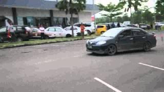 Batam Pos Slalom Practice @Kepri Mall Batam AVI