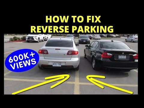 How to CORRECT REVERSE PARKING