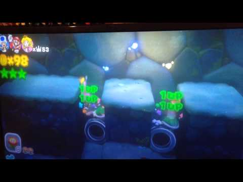 Super Mario 3D World - Double Turtle Tipping