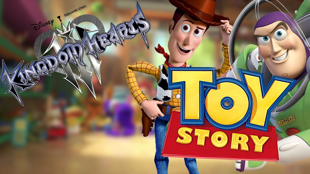 The Worlds Of Kingdom Hearts 3 Toy Story Youtube