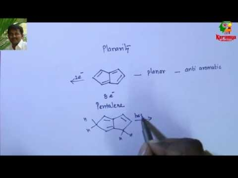 Aromaticity-part 1 Huckel's rule CSIR NET organic chemistry problem by Dr.L.Emmanuvel
