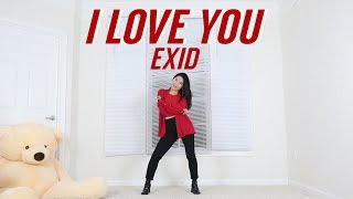 [EXID(이엑스아이디)] 알러뷰 (I LOVE YOU) Lisa Rhee Dance Cover