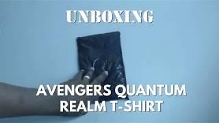 Unboxing: Avengers Endgame Quantum Realm T-Shirt