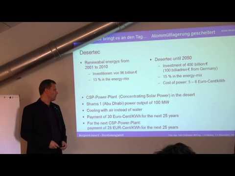 """Atomic Energy vs. Renewable Energy"" part 2/3"
