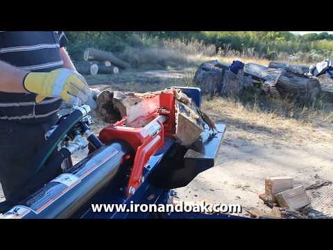 Iron & Oak 24 Ton Horizontal/Vertical Log Splitter