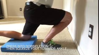 Ankle Dorsiflexion Isometric Hold