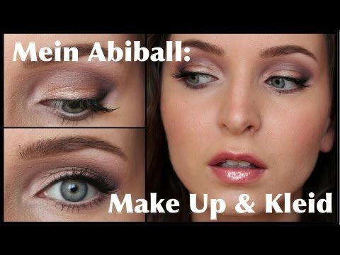 mein abiball makeup kleid prom make up youtube. Black Bedroom Furniture Sets. Home Design Ideas